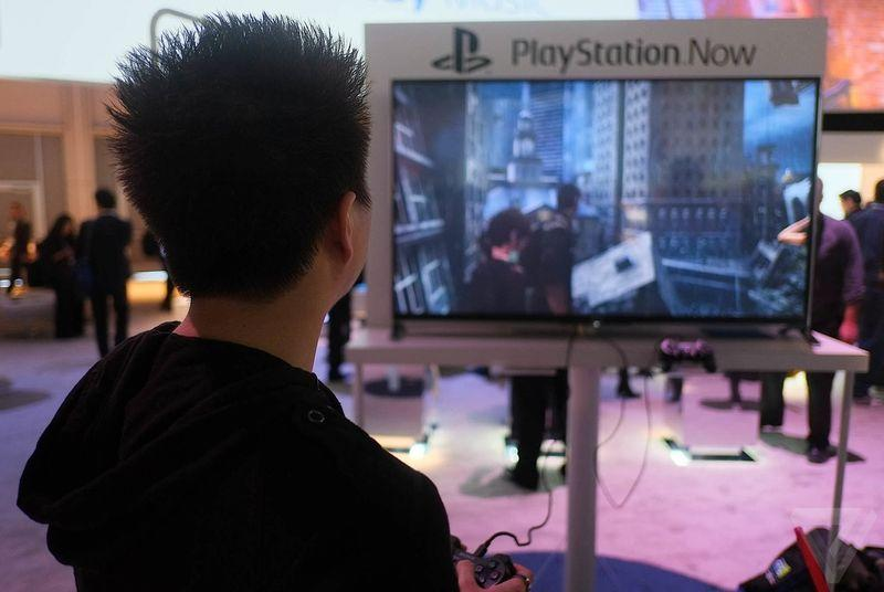 PlayStation Now game streaming is coming to Samsung TVs in 2015