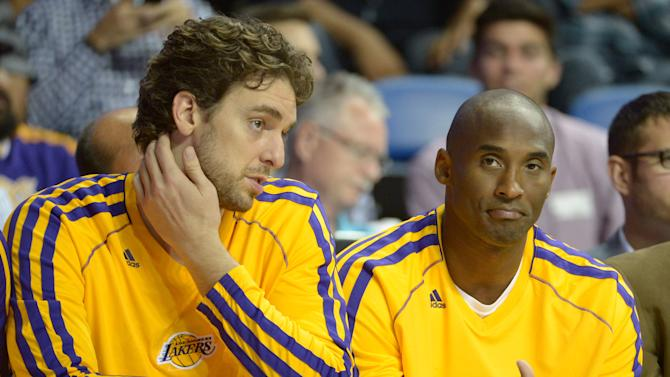 NBA: Preseason-Denver Nuggets at Los Angeles Lakers