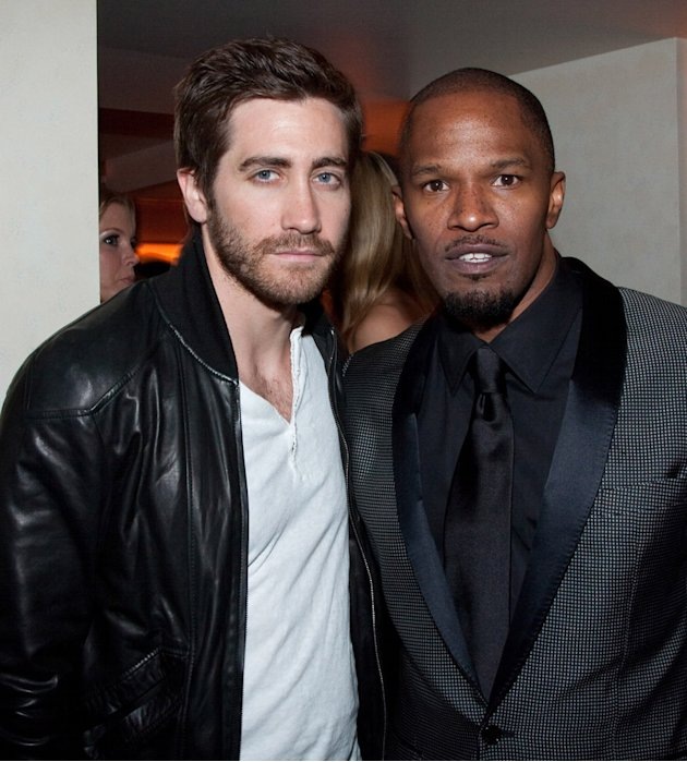 Jake Gyllenhaal 2010 Jamie Foxx
