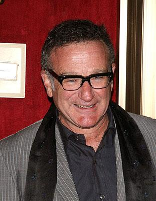Robin Williams at the New York City premiere of Warner Bros. Pictures' August Rush