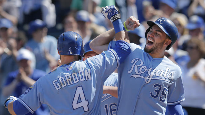 Gordon homers, drives in 4 as Royals beat Rays 7-3