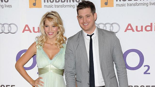 Michael Buble Welcomes First Child