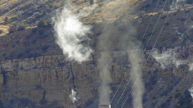 File photo of the coal-fired Castle Gate Power Plant is pictured outside Helper Utah