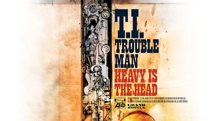 "This CD cover image released by Grand Hustle/Atlantic Records shows ""Trouble Man: Heavy is the Head""  by T.I. (AP Photo/Grand Hustle/Atlantic Records)"