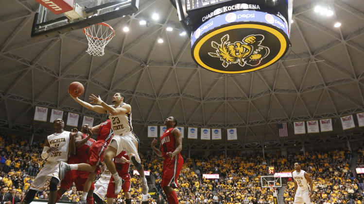 VanVleet leads No. 16 Wichita St past W. Kentucky