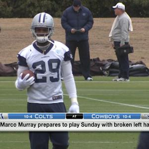 NFL Media Insider Ian Rapoport: Optimism surrounds Dallas Cowboys running back DeMarco Murray's Sunday chances