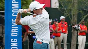 Louis Oosthuizen takes long drive title; Rory McIlroy steals show