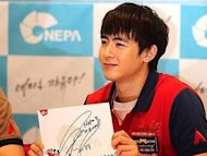 Nichkhun fined KRW 4 million for DUI