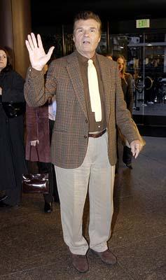 Premiere: Fred Willard at the Hollywood premiere of Warner Bros. A Mighty Wind - 4/14/2003
