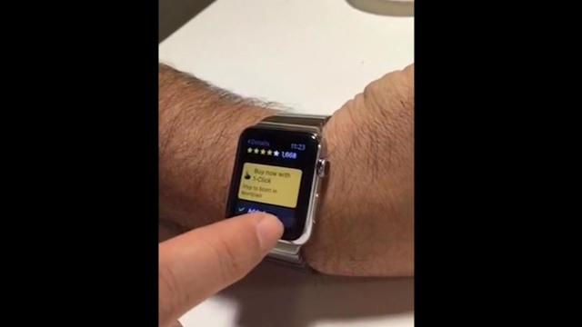 It's too easy to accidentally buy stuff on Apple Watch
