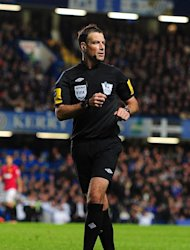 Mark Clattenburg is eager to get back to refereeing