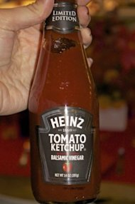 The new, limited-edition Heinz ketchup with balsamic vinegar (Photo: Meredith Galante/Business Insider)