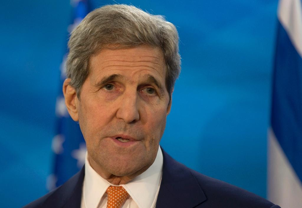 Kerry, Lavrov speak by phone about Russia plane shootdown