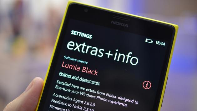 Nokia's Lumia Black update rolling out to AT&T Lumia 1020s today