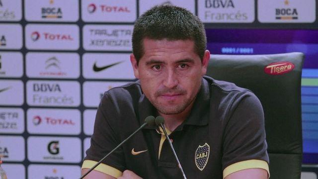 Riquelme hopes to return from injury to face Corinthians