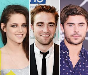 Rob Pattinson, Kristen Stewart Party With Zac Efron, Andrew Garfield at NJ Wedding