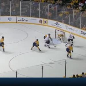Pekka Rinne Save on Reilly Smith (00:40/OT)
