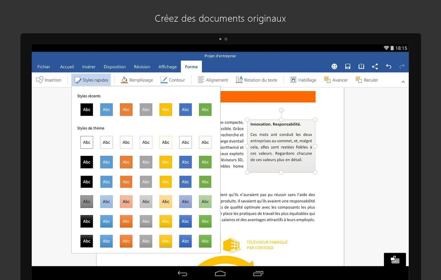 Office finally comes to Android