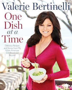 "This undated publicity photo provided by Rodale Books shows the cover of Valerie Bertinelli's book ""One Dish at a Time."" (AP Photo/Rodale Books)"