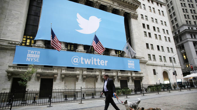 Twitter surges in opening trade on NYSE