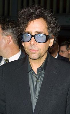 Tim Burton at the New York premiere of 20th Century Fox's Planet Of The Apes