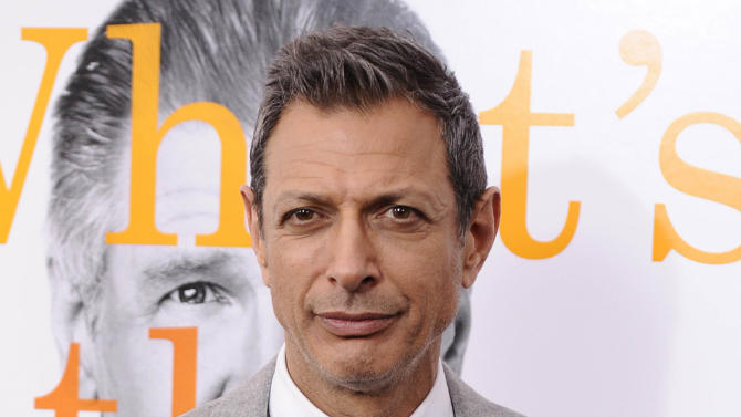 """FILE - This Nov. 7, 2010 file photo shows Jeff Goldblum at the premiere of """"Morning Glory"""" at The Ziegfeld Theatre in New York. A judge on Tuesday June 12, 2012 granted Goldblum a three-year restraining order against Linda Ransom, who the actor says has been harassing him for a decade and came to his house repeatedly last month.  (AP Photo/Peter Kramer, file)"""