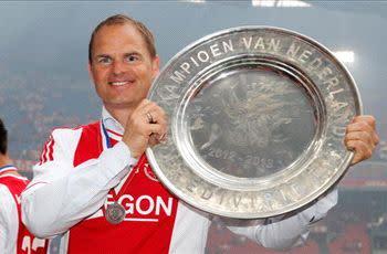 Ajax boss De Boer signs contract extension