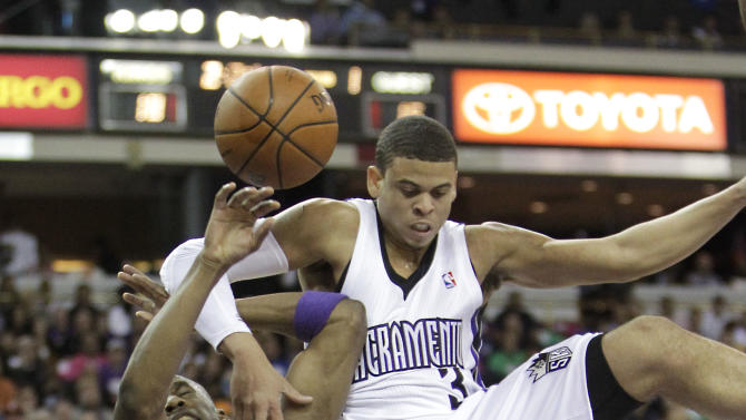 Gay, McCallum lead Kings past Lakers, 107-102