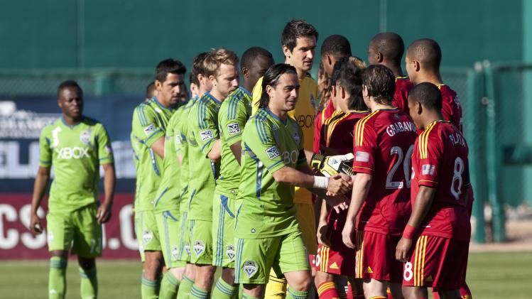 MLS: Preseason-Seattle Sounders vs Real Salt Lake