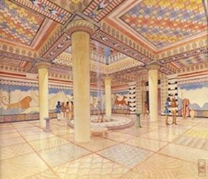 Ancient Palace's Painted Floors Display Bronze-Age Creativity