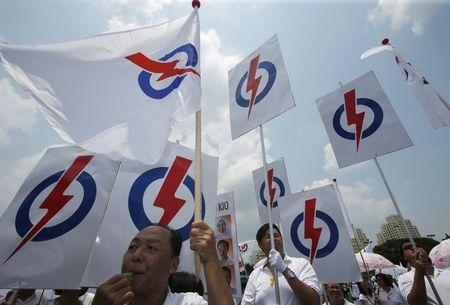 Singapore ruling party for first time faces election fight for every seat