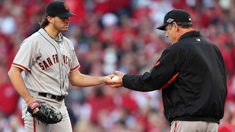 San Francisco Giants v Cincinnati Reds - Game Four
