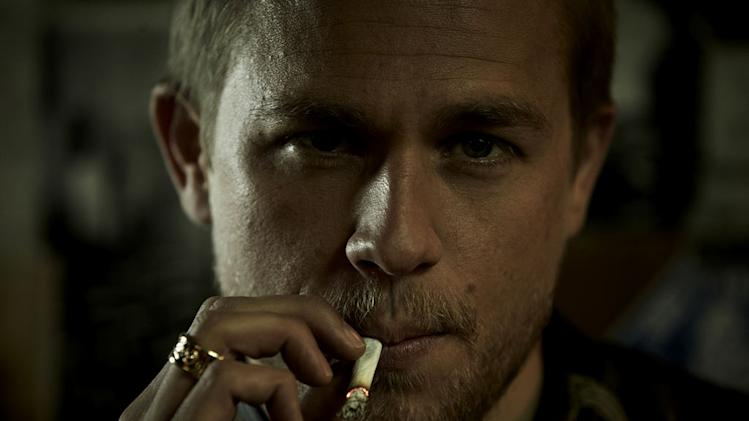 "Charlie Hunnam stars as Jackson ""Jax"" Teller in ""Sons Of Anarchy."""