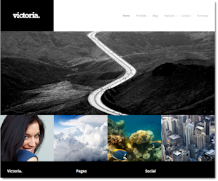 10 Best Wordpress Themes in 2013 for Photographers image Victoria4