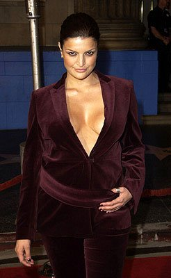 Jennifer Gimenez at the Hollywood premiere of The Royal Tenenbaums