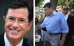 Purpura Picks Rick Perry over Stephen Colbert