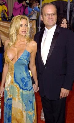 Camille Donatacci and Kelsey Grammer Screen Actors Guild Awards 2/22/2004