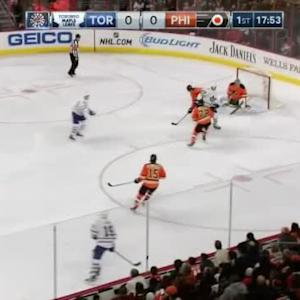 Steve Mason Save on Cody Franson (02:09/1st)