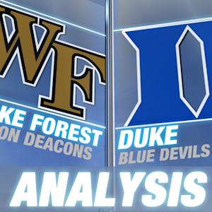 Duke Impressive in Huge Win Over Wake Forest