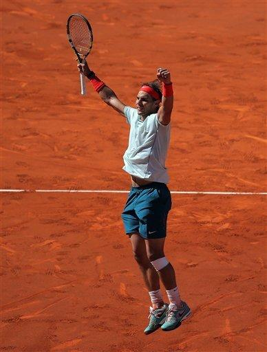 Nadal reaches 7th straight final at Madrid Open