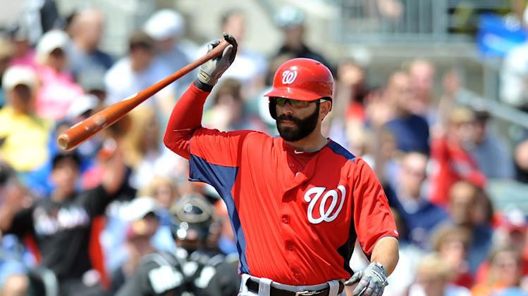 MLB: Spring Training-Washington Nationals at Miami Marlins