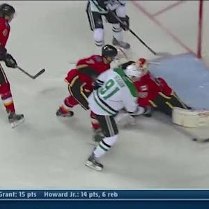 Tyler Seguin fights one in