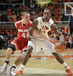 Paul's 43 leads Illini past Ohio State, 79-74