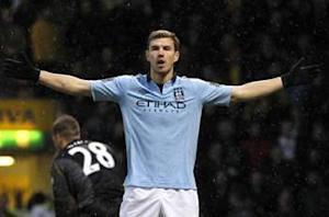 Dzeko not leaving Manchester City during January window, says agent