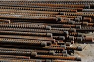 Steel rebar lies on the side of the road after being unloaded in Beijing in 2011. China has appealed against a World Trade Organization (WTO) ruling which found that it had imposed illegal anti-dumping duties on US electrical steel imports, the trade arbiter said on Friday