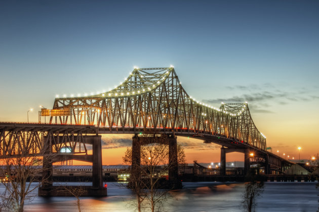 Mississippi River Bridge in Baton Rouge, La.