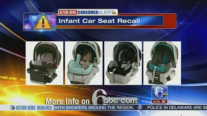 Graco gives in, agrees to recall infant seats