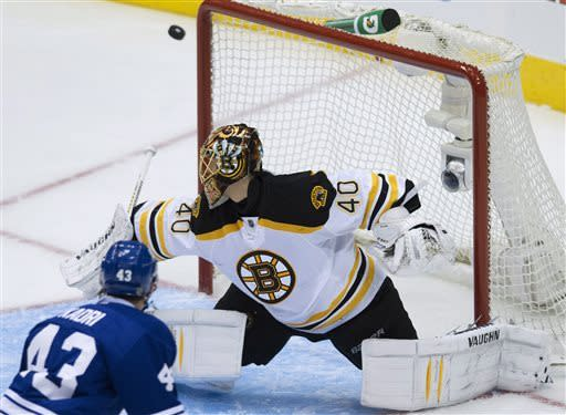 Maple Leafs edge Bruins 2-1 to force Game 7