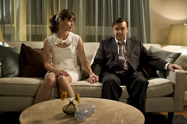 The Invention of Lying Production Photos 2009 Jennifer Garner Ricky Gervais