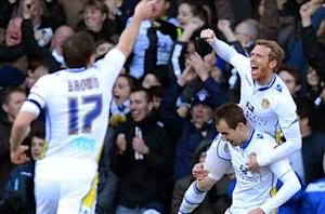Leeds 2-1 Tottenham: Varney and McCormack shock Spurs